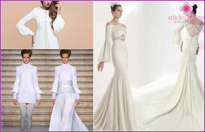Brautkleider: Bishop Sleeve Optionen