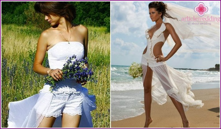 Top Options for Bridesmaid Dress with Shorts