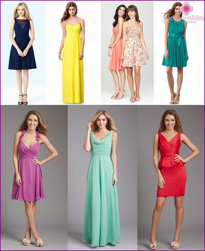 Wedding dress length options