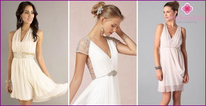Greek Wedge Dress