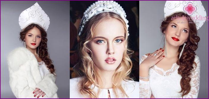 Stilisiertes Brautkleid von Designern