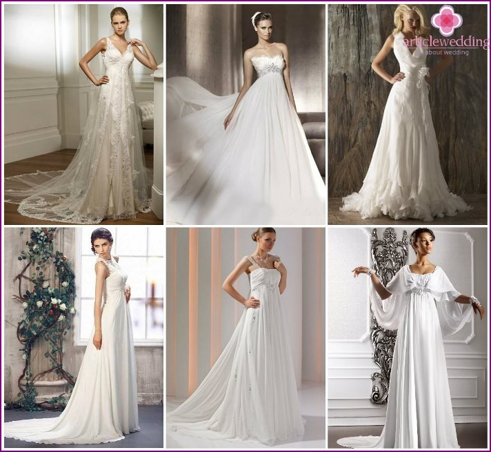 Empire Style Wedding Dresses