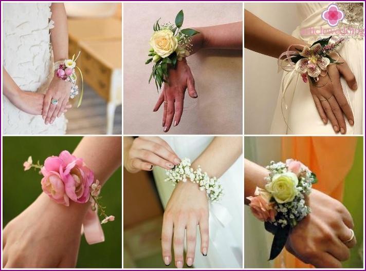 Fresh flowers in a wedding boutonniere