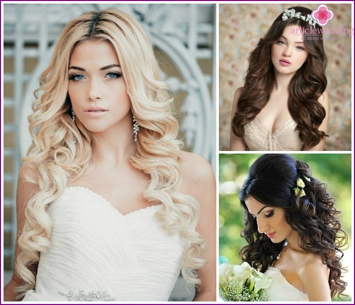 Fashionable styling options with curls