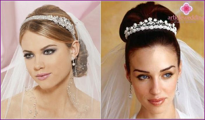 Hochzeitszubehör für langes Haar