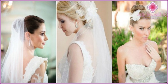 Bundles and veils in wedding trends