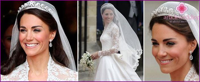 Prinsessa Kate Middletonin hääparin aristokratia
