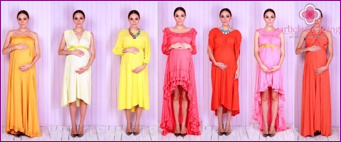 Options for dresses for pregnant girls
