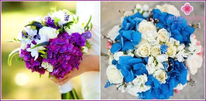Unusual flower arrangement