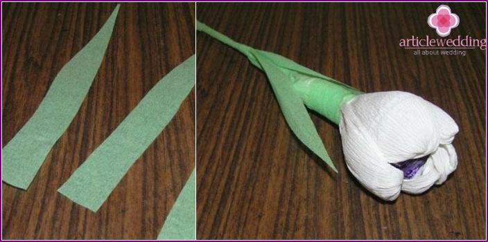 Crocus for a wedding arrangement