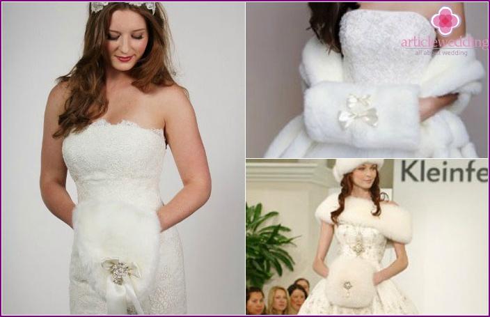Fur accessory: coupling