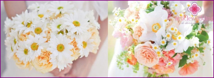 Funny and cute daisies for a wedding