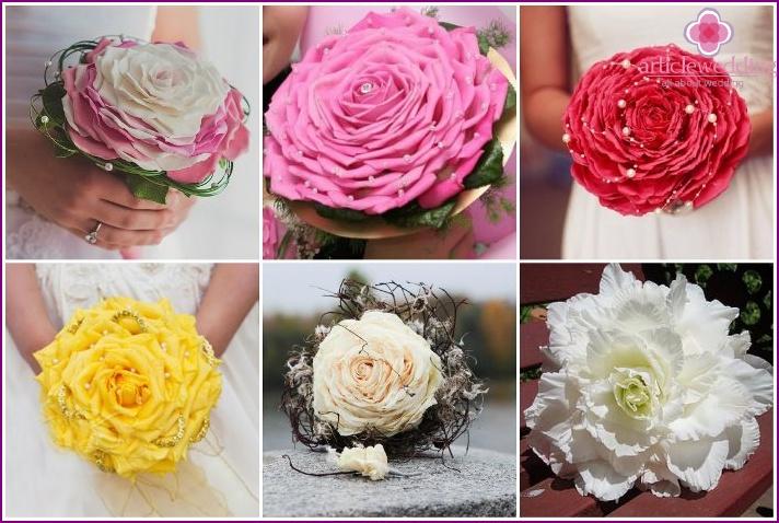 Wedding glamoria bouquet for the bride