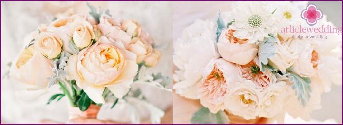 Harmonious bridal bouquet