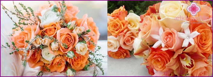 Harmonious bridal bouquet