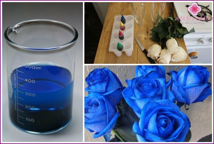 Come ottenere rose blu