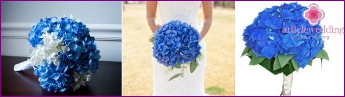 Gentle hydrangea is a good choice for a wedding