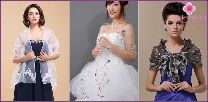 Hochzeitsschal für die Braut