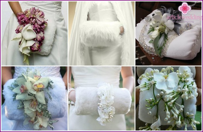 Wedding clutch for the bride