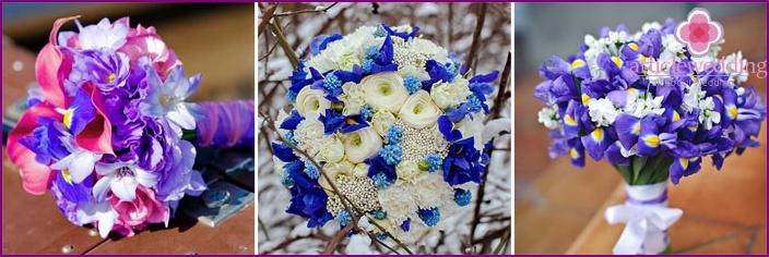 Iris for creating a flower arrangement