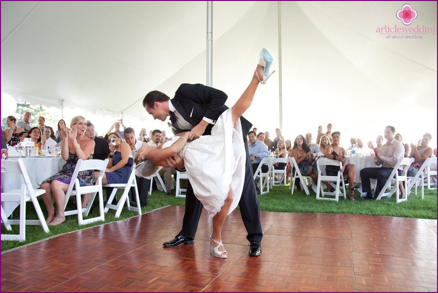 A wedding dance