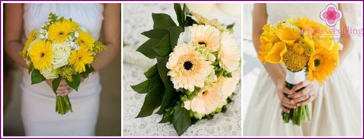 Gerbera Bride Flower Accessory