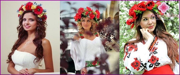 Ukrainian wedding crown
