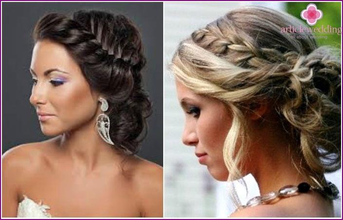 Greek styling: weave