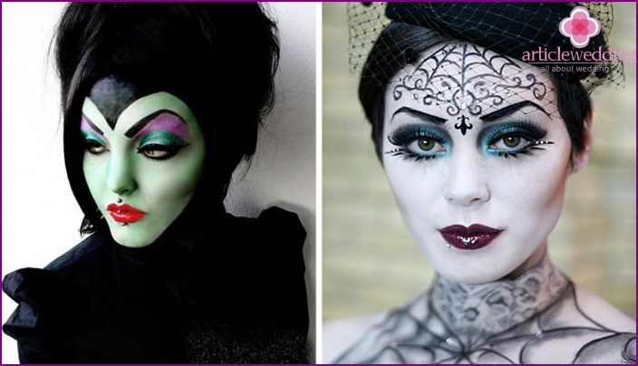 Hexen Make-up
