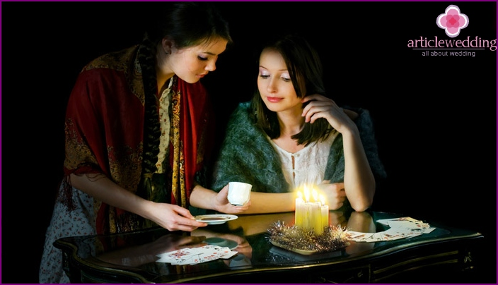 Witch fortune telling