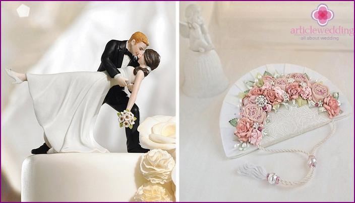 Wedding paraphernalia as a gift for a bachelorette party