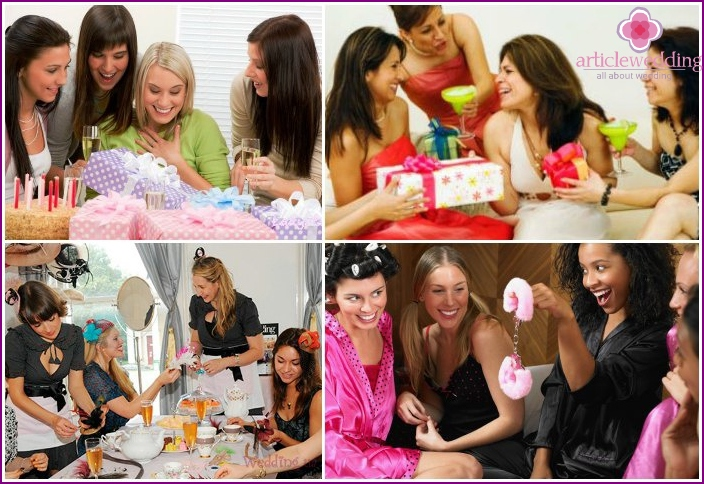 Gifts for a bachelorette party of a bride