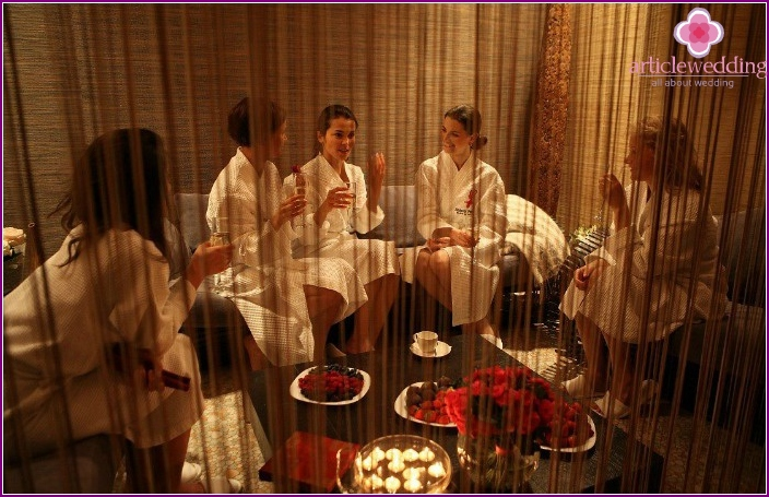 How to spend a bachelorette party in a spa
