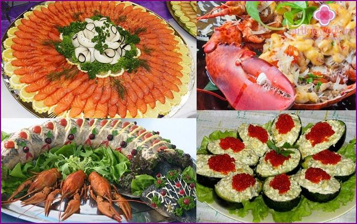 Fish menu