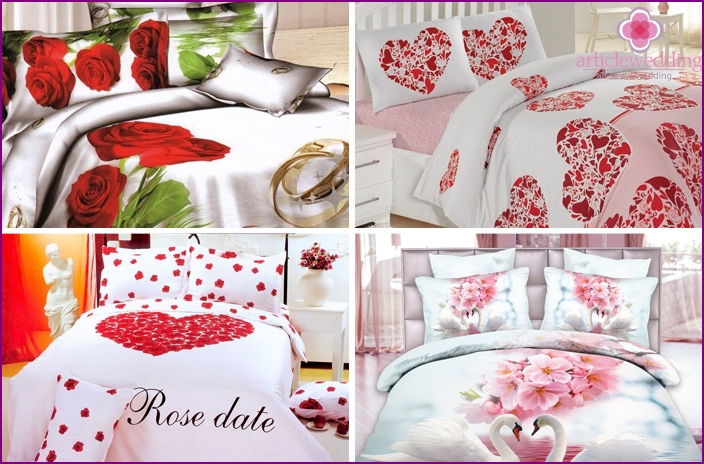 Wedding bedding
