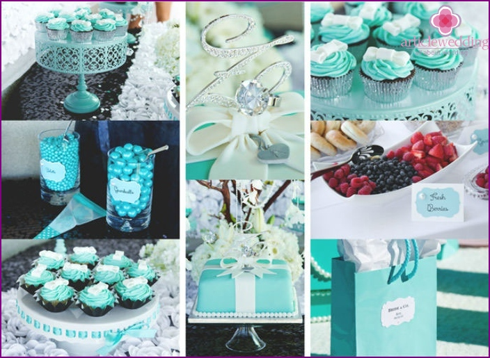 Tiffany's Breakfast Party Accessories