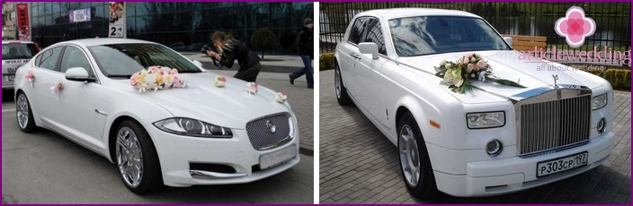 Wedding Cars: VIP and Business Class