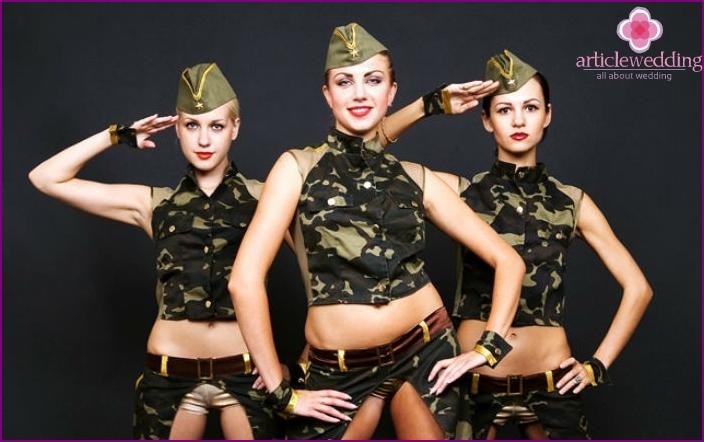 Das Bild des Militärs