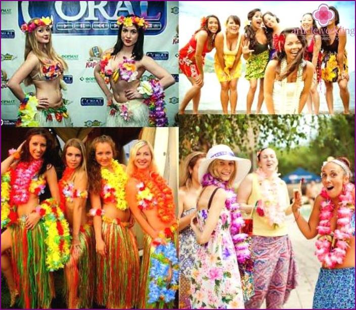 Hawaiianische Junggesellenparty