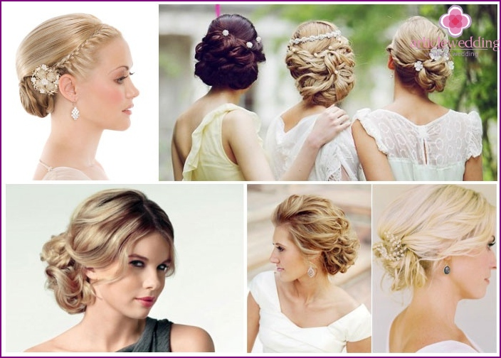 Options for hairstyles for girlfriends of the future wife