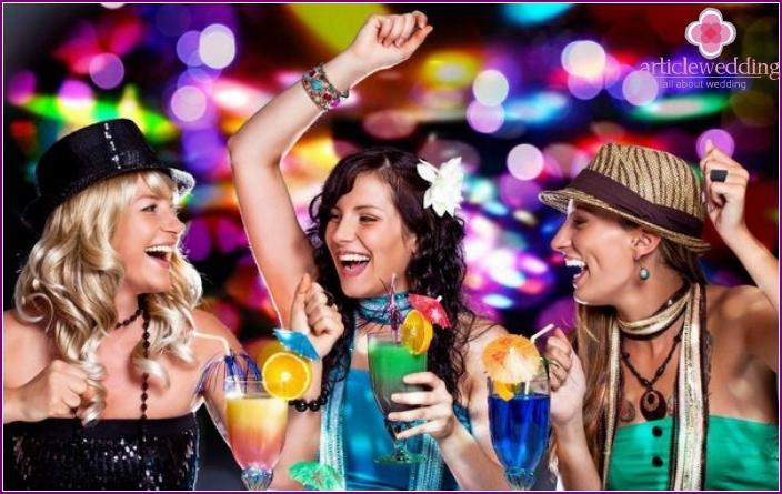 Idea for a bachelorette party - night club