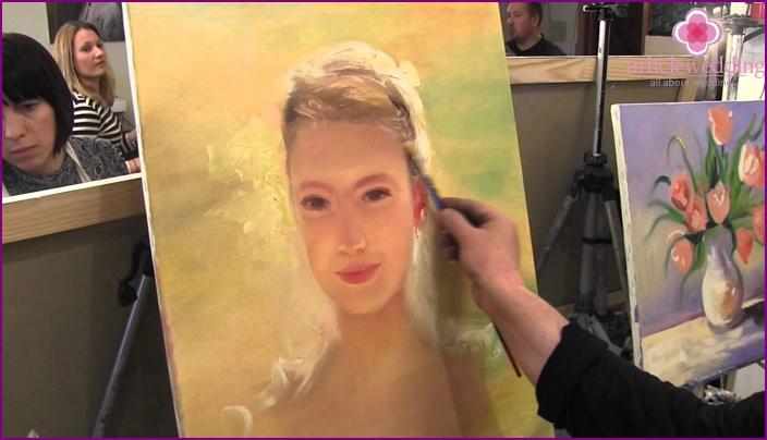 Contest Portrait of the future bride for a bachelorette party