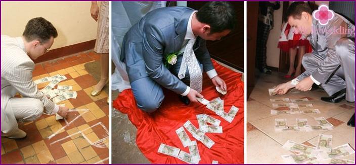 Der Name der Braut machte Geld bei einer Hochzeitsfeier