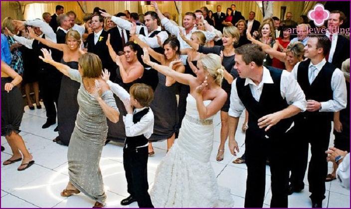 Wedding dance flash mob for 20 people