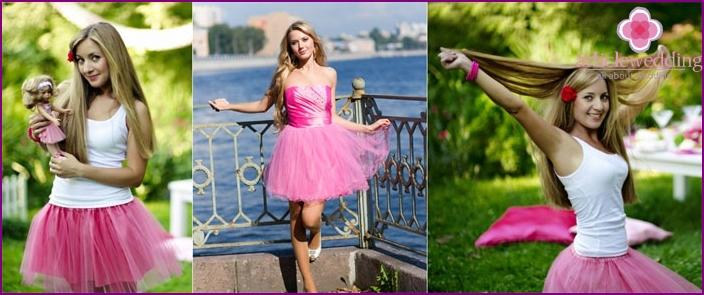 Radwanderungen während der Barbie-Junggesellenparty