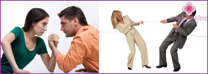 Taistelu perhesuhteissa