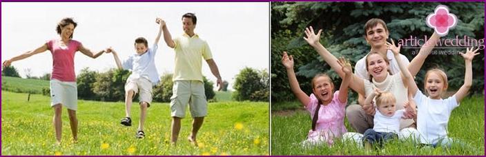 Elämän prioriteetti - Vahva perhe