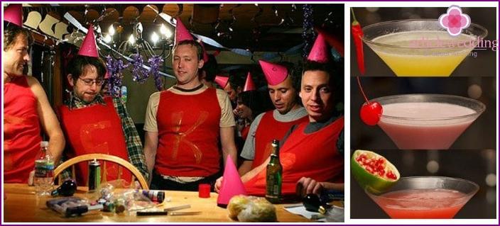 Latin bachelor party