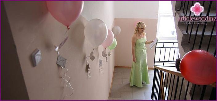 Decorating the bride ransom