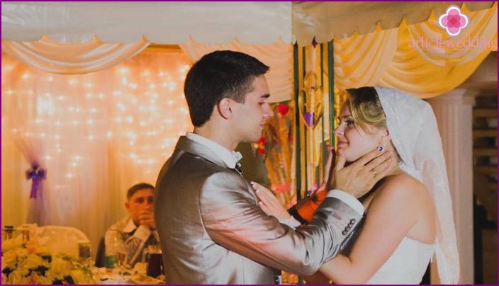Tanssirituaalit aviomiehen kanssa